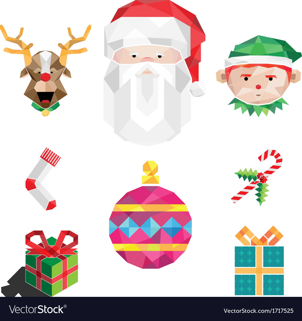 Christmas pack vector