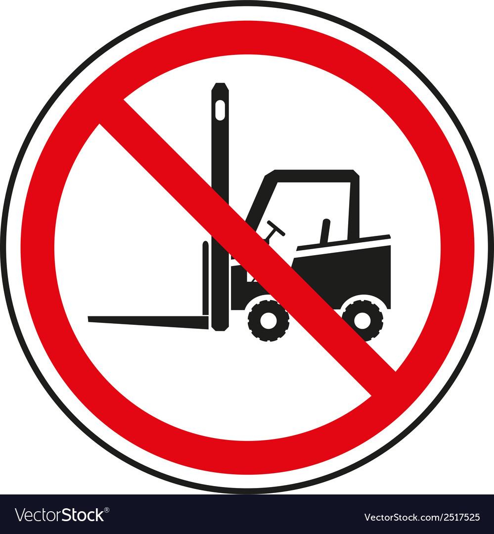 Forklift 3 vector | Price: 1 Credit (USD $1)