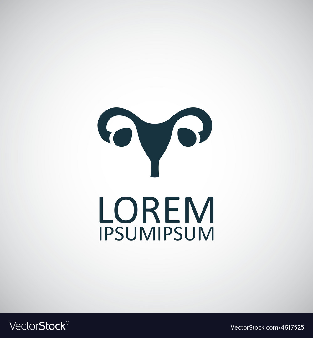Gynecology icon vector