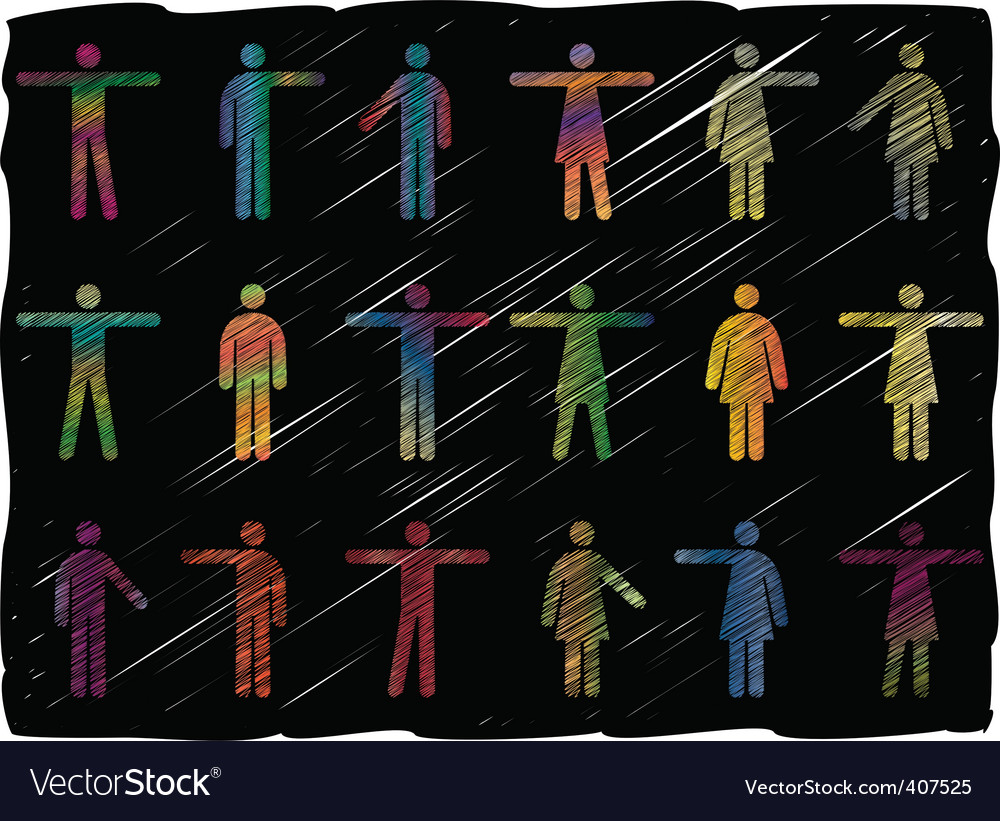People pictograms vector | Price: 1 Credit (USD $1)