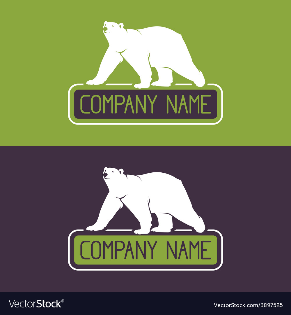 Polar bear icon vector | Price: 1 Credit (USD $1)
