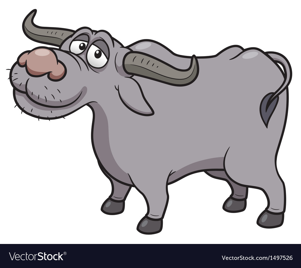 Buffalo vector | Price: 1 Credit (USD $1)