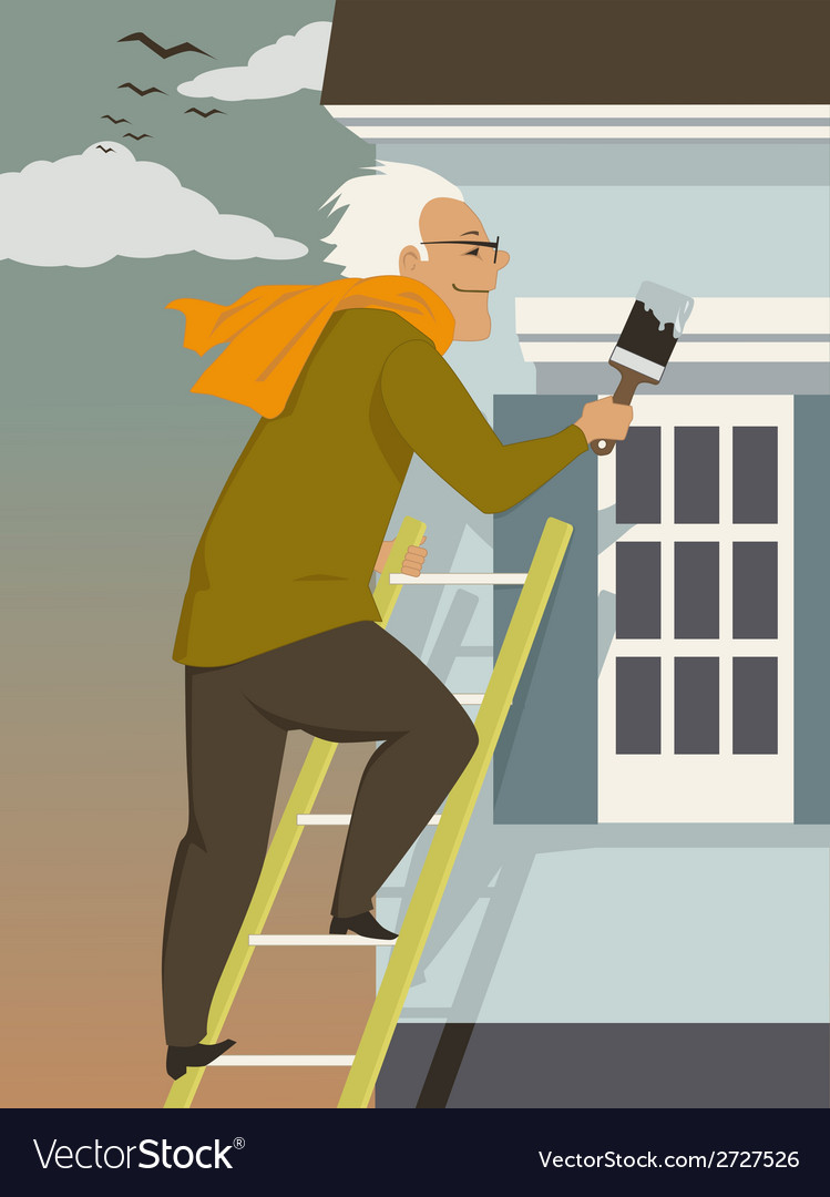 Fall house maintenance vector | Price: 1 Credit (USD $1)
