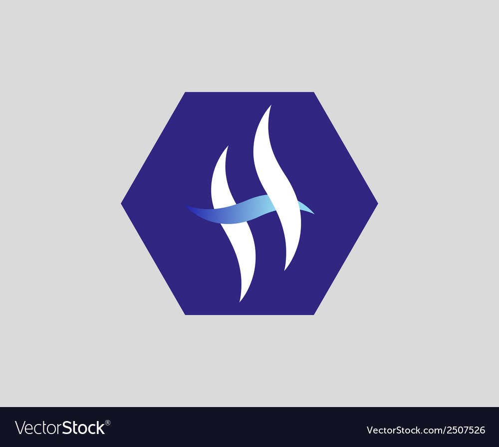 H letter logo vector | Price: 1 Credit (USD $1)