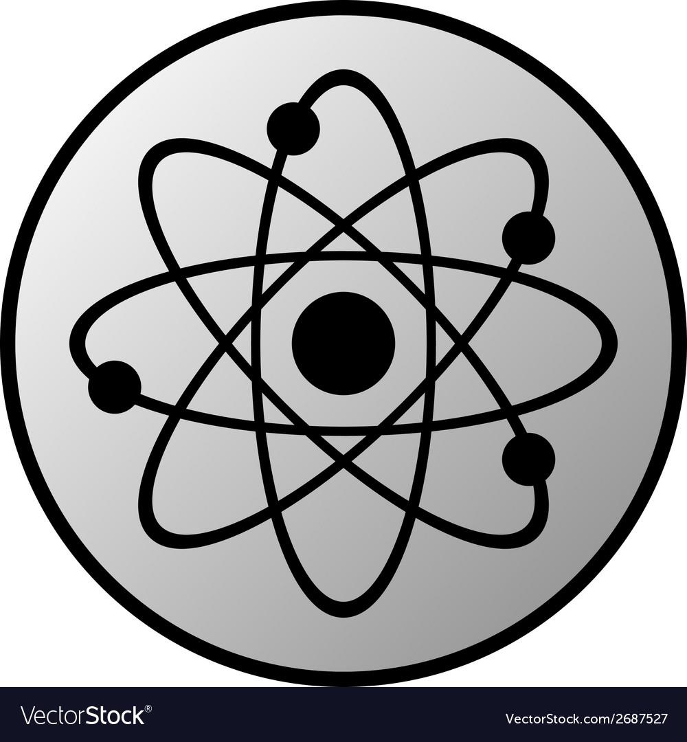 Atom button vector   Price: 1 Credit (USD $1)