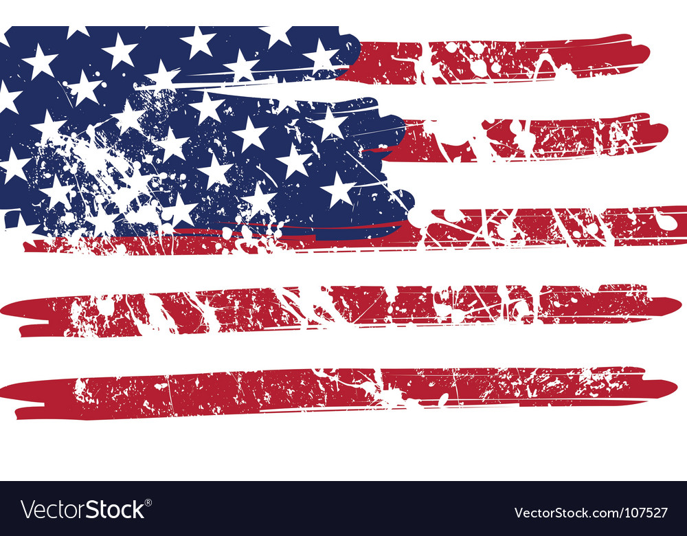 Grunge flag vector | Price: 1 Credit (USD $1)