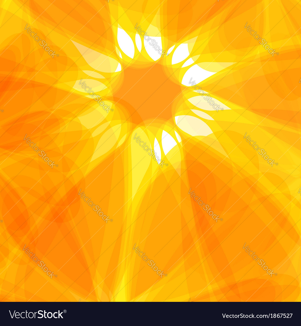 Sun abstract background vector | Price: 1 Credit (USD $1)