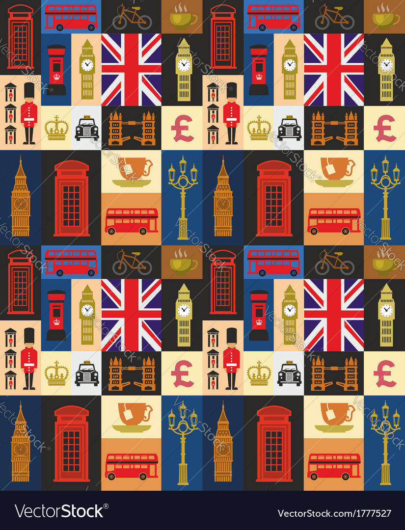 Uk icon set vector | Price: 1 Credit (USD $1)