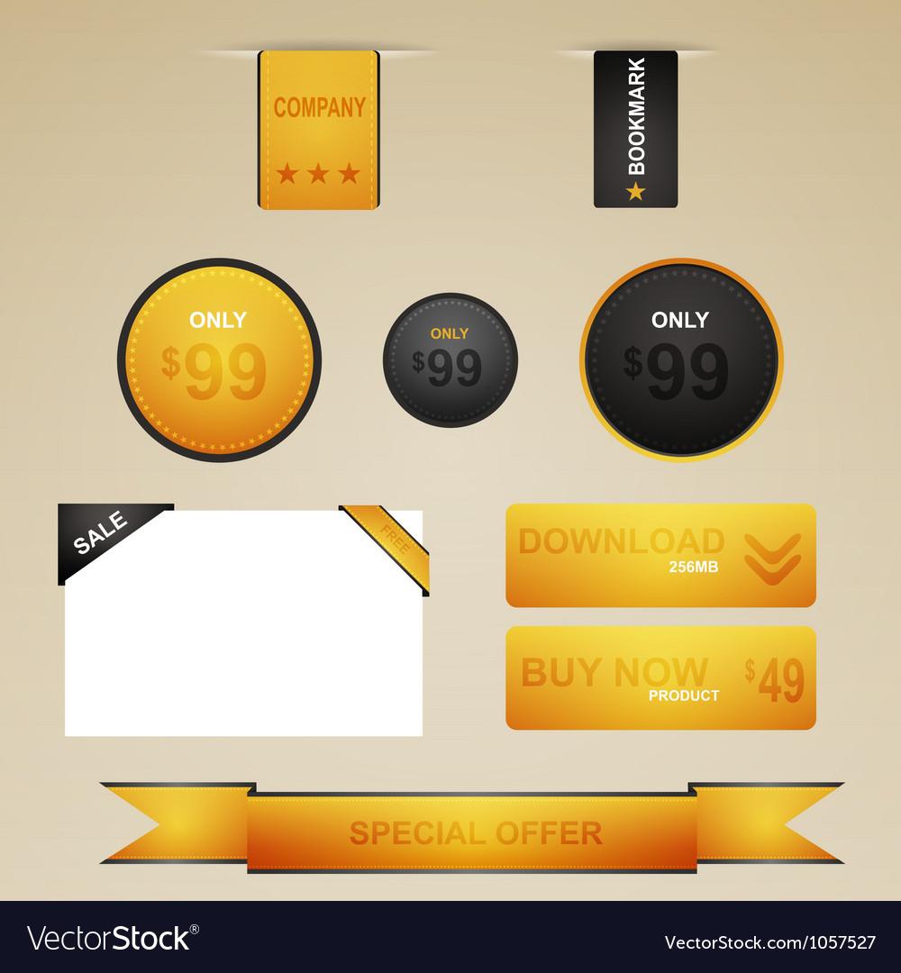 Web site design navigation vector   Price: 1 Credit (USD $1)