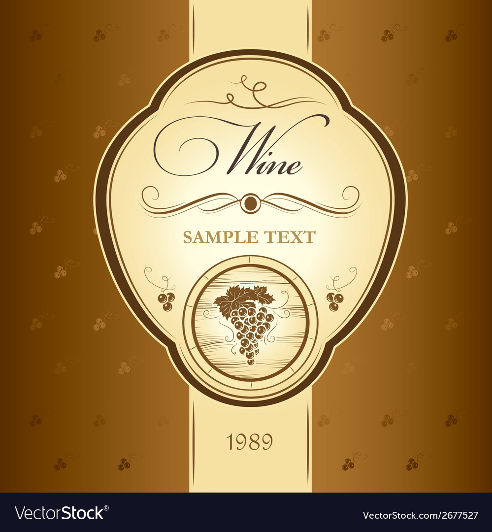 Winery design vector | Price: 1 Credit (USD $1)
