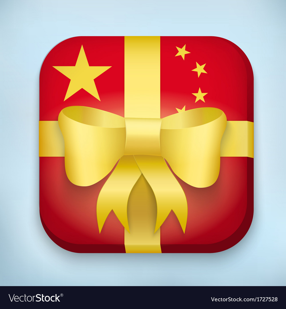 Design china gift icon for web and mobile vector | Price: 1 Credit (USD $1)