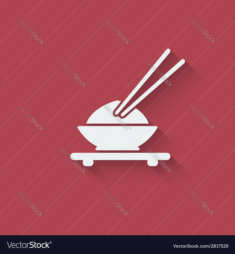 Asian food design element vector | Price: 1 Credit (USD $1)