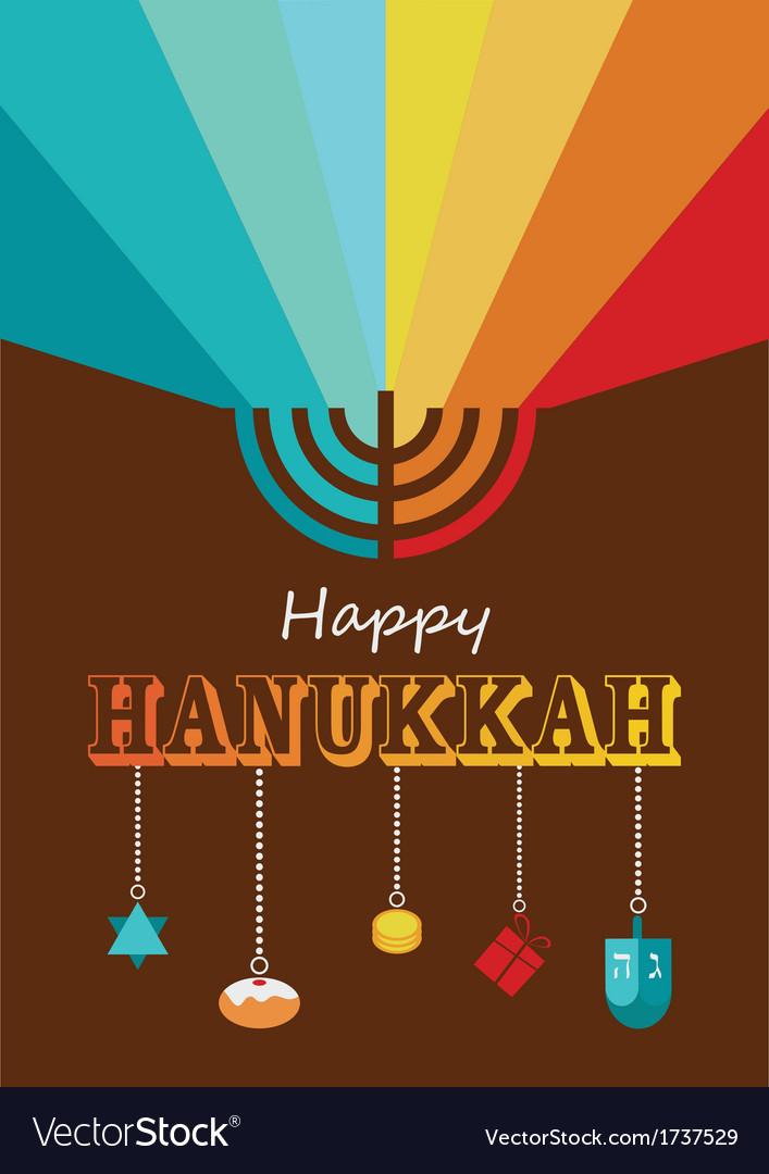 Hanukkah infographics vector | Price: 1 Credit (USD $1)