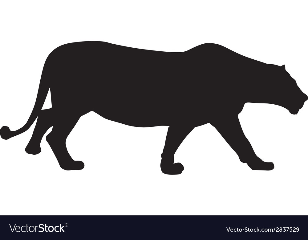 Lion hunt vector | Price: 1 Credit (USD $1)