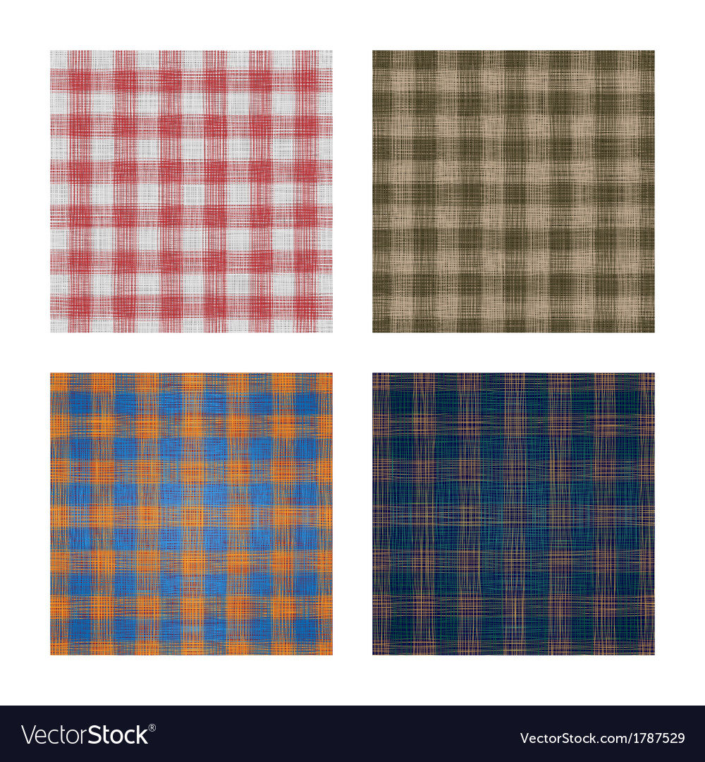 Set of linen backgrounds vector | Price: 1 Credit (USD $1)