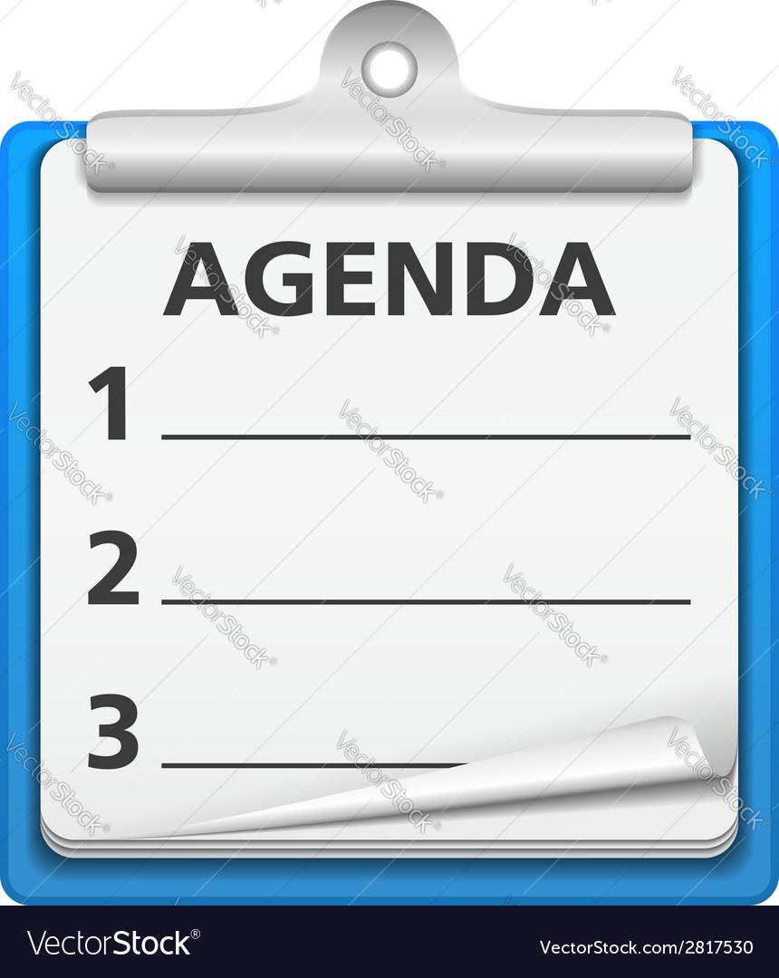 Agenda vector   Price: 1 Credit (USD $1)