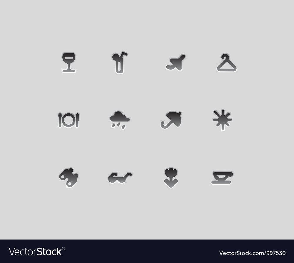 Icons for entertainment vector | Price: 1 Credit (USD $1)
