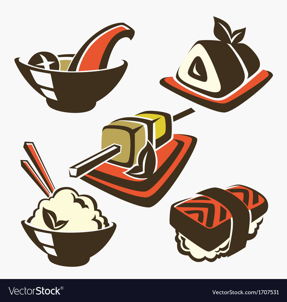 Japan food vector | Price: 1 Credit (USD $1)