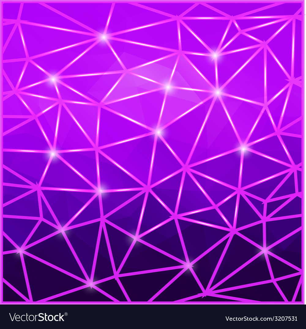 Modern abstract geometric purple background vector | Price: 1 Credit (USD $1)