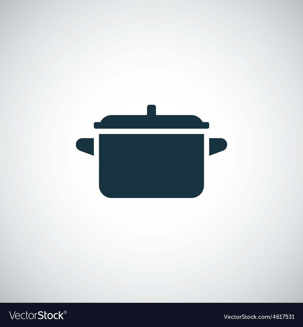 Pot icon vector | Price: 1 Credit (USD $1)