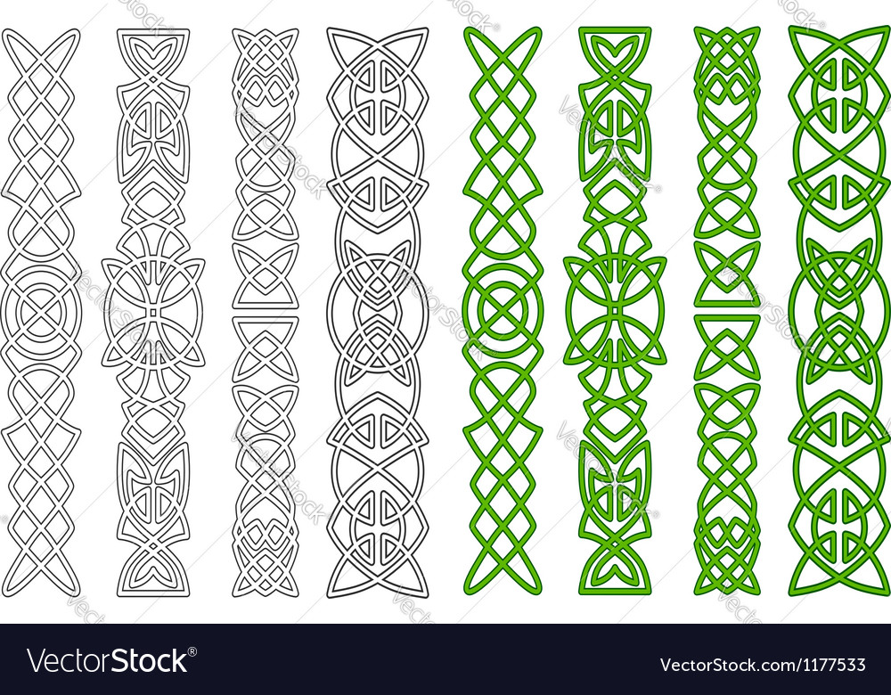 Celtic ornaments and elements vector | Price: 1 Credit (USD $1)