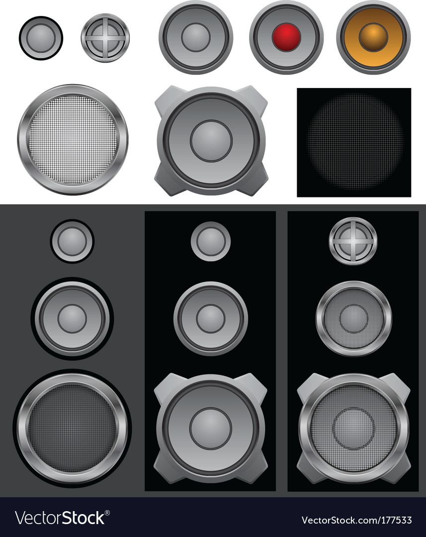 Speaker basic vector | Price: 1 Credit (USD $1)