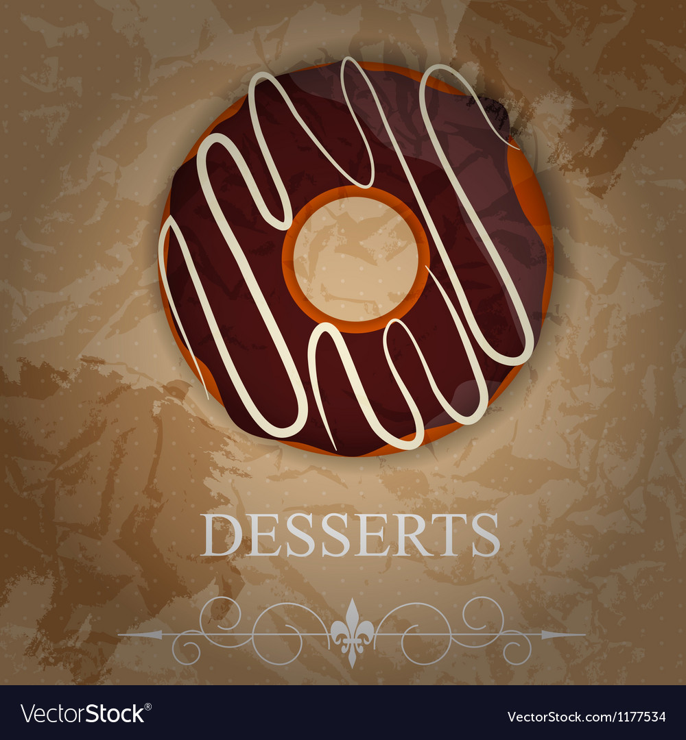 Dessert menu vector   Price: 1 Credit (USD $1)