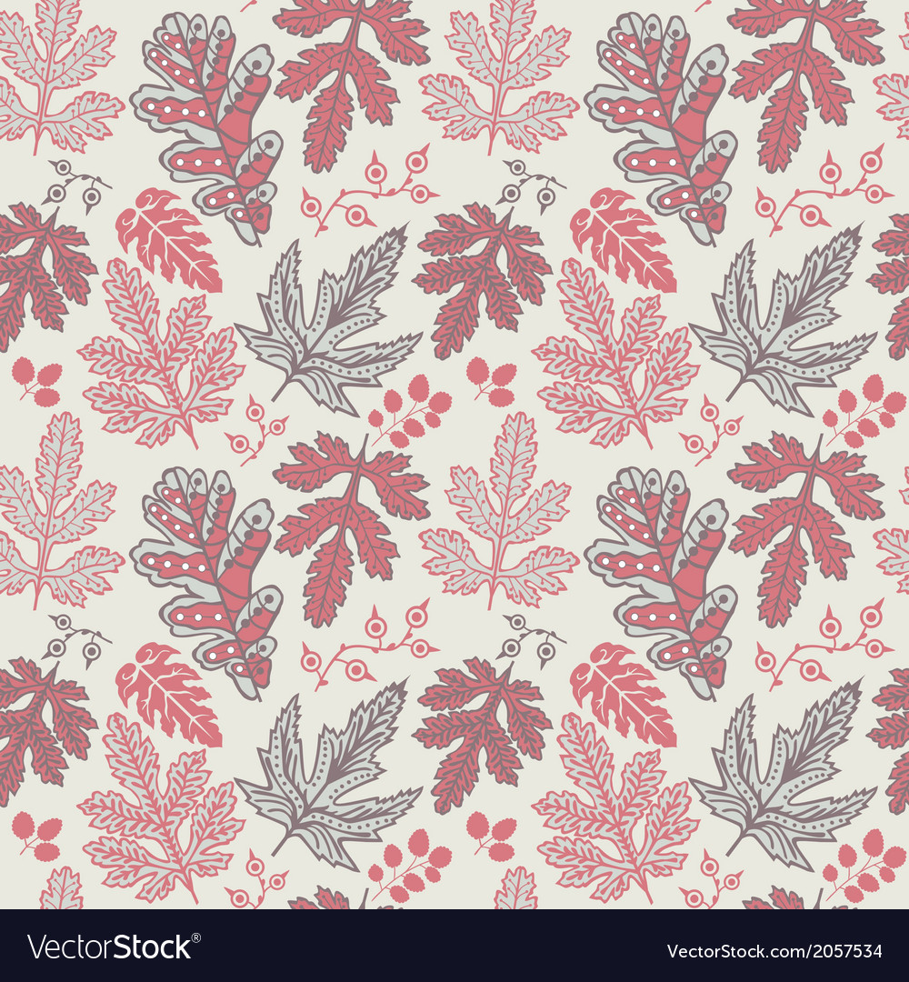 Seamless pattern with leaf copy that square to the vector | Price: 1 Credit (USD $1)