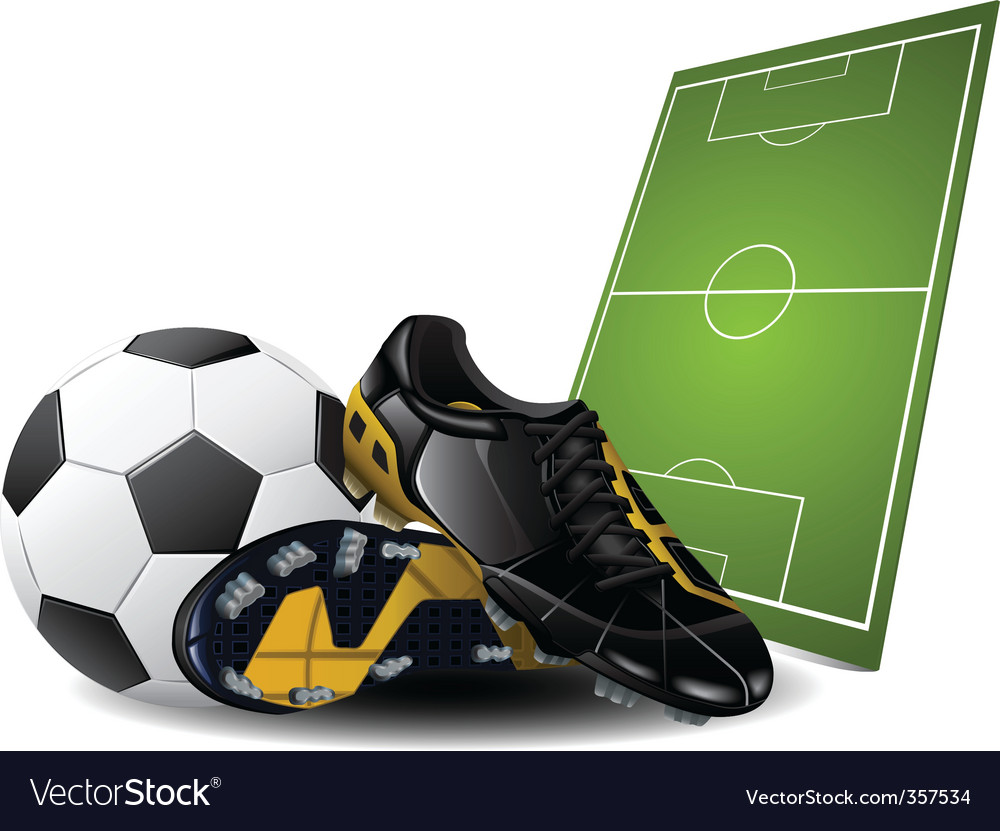 Soccer vector | Price: 3 Credit (USD $3)