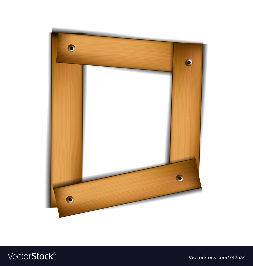 Wooden type o vector | Price: 1 Credit (USD $1)