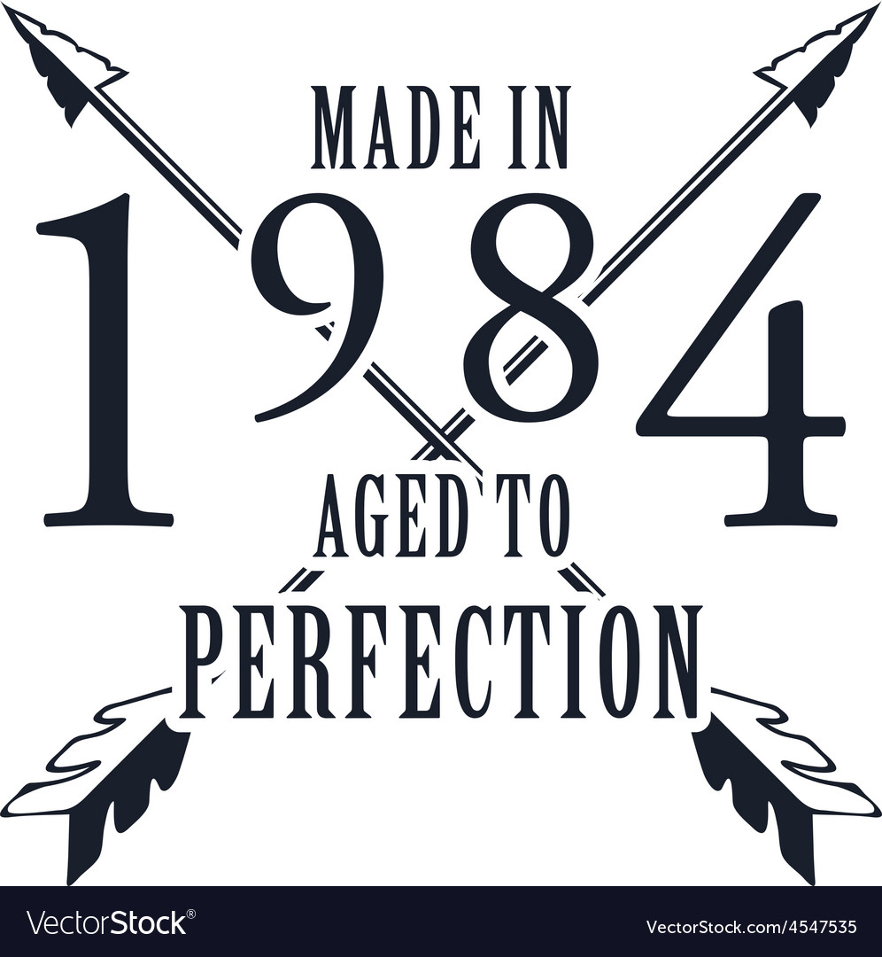 Aged to perfection t-shirt graphics vector | Price: 1 Credit (USD $1)