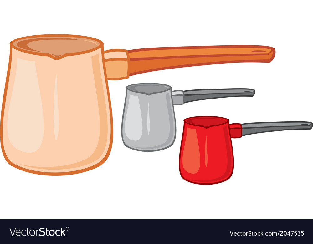 Coffee pot vector | Price: 1 Credit (USD $1)
