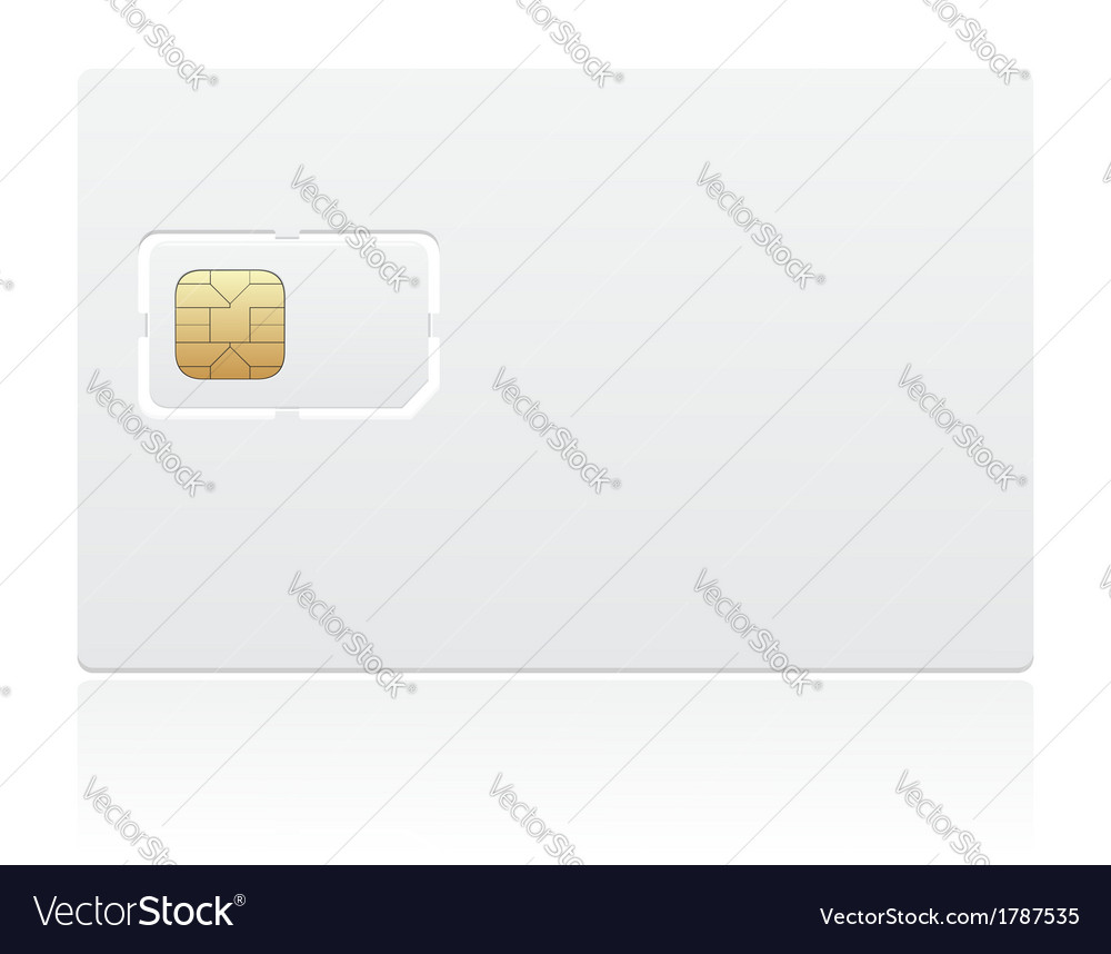 Sim card 03 vector | Price: 1 Credit (USD $1)