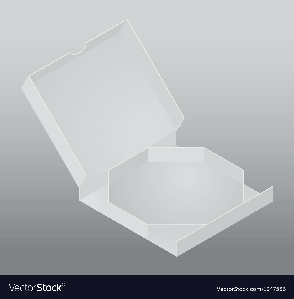 Blank packing box vector | Price: 1 Credit (USD $1)