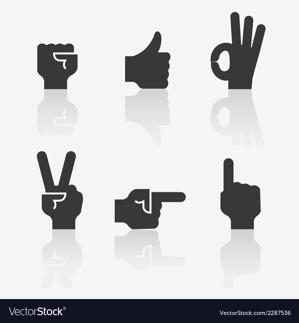 Iconhands6 vector | Price: 1 Credit (USD $1)