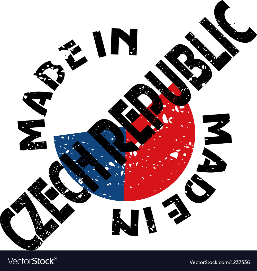 Made in czech republic vector | Price: 1 Credit (USD $1)