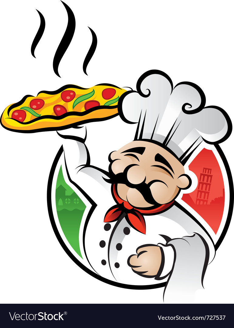 Pizza chef vector | Price: 3 Credit (USD $3)