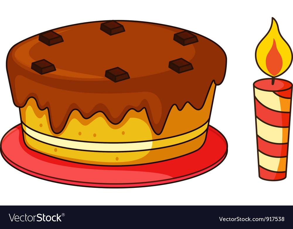 Birthday cake vector | Price: 3 Credit (USD $3)