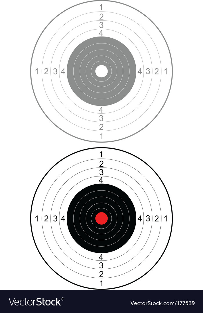 Target for shooting vector | Price: 1 Credit (USD $1)