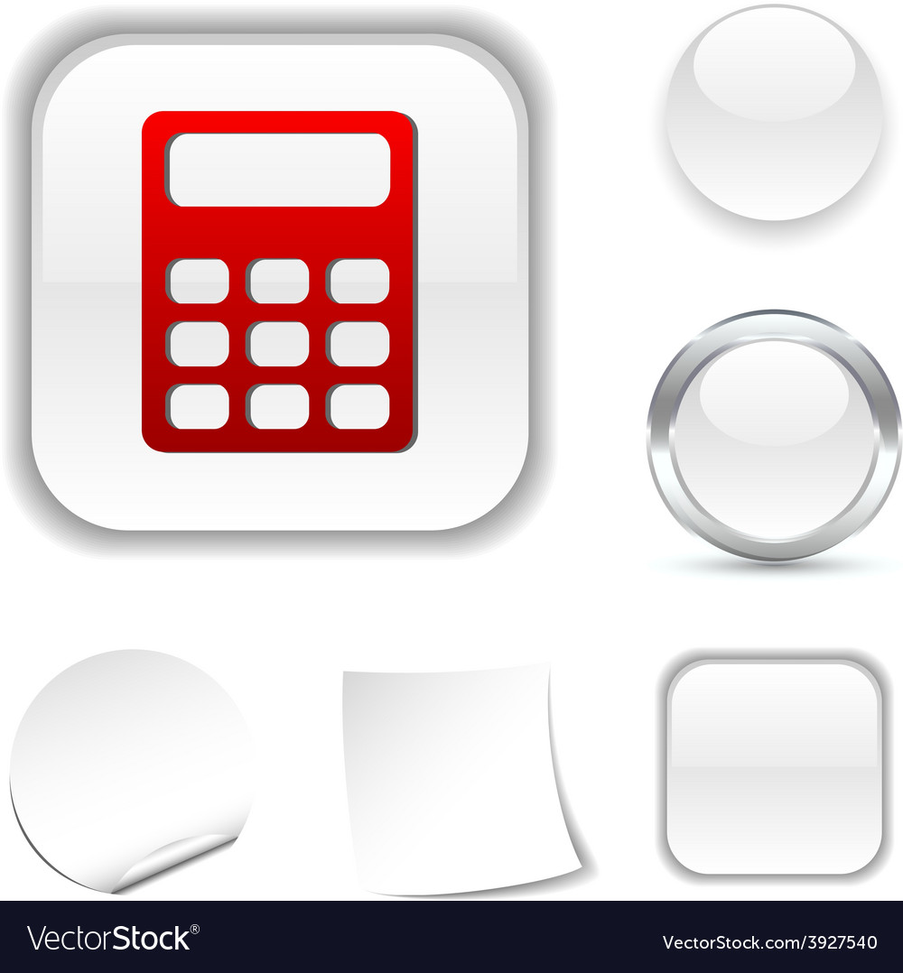 Calculate icon vector | Price: 1 Credit (USD $1)