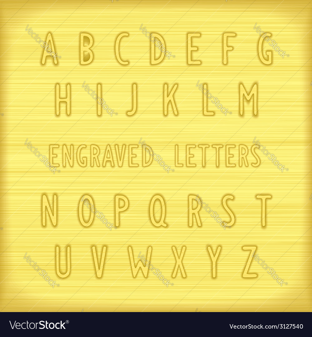 Font gold vector | Price: 1 Credit (USD $1)