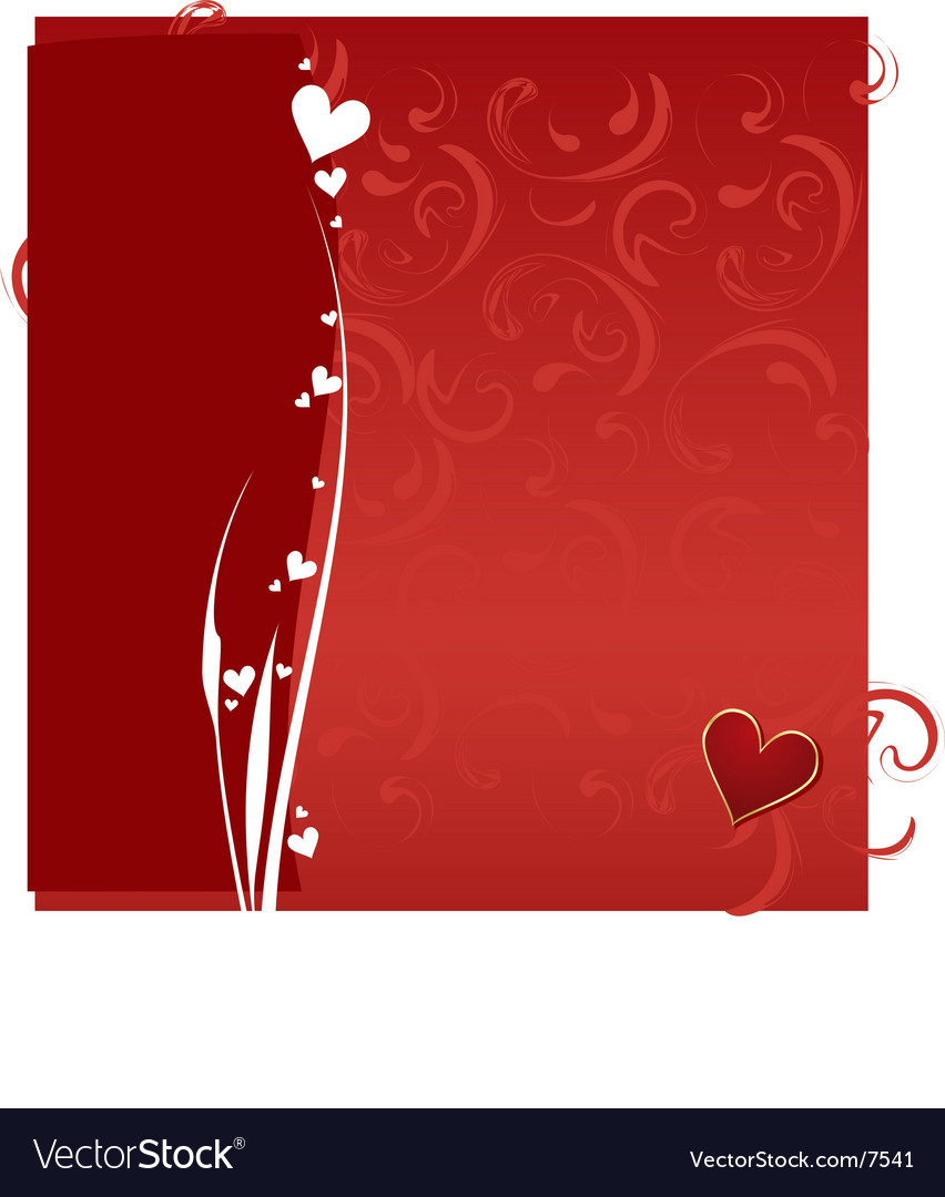Valentines day pattern background vector | Price: 1 Credit (USD $1)