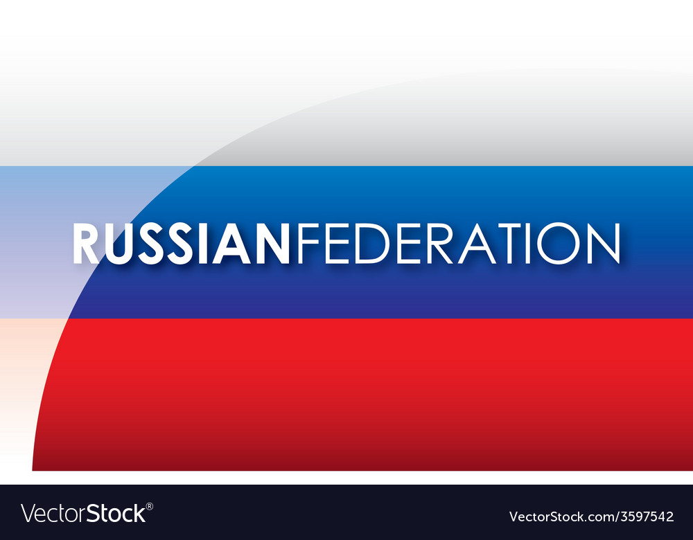 Russian federation vector | Price: 1 Credit (USD $1)