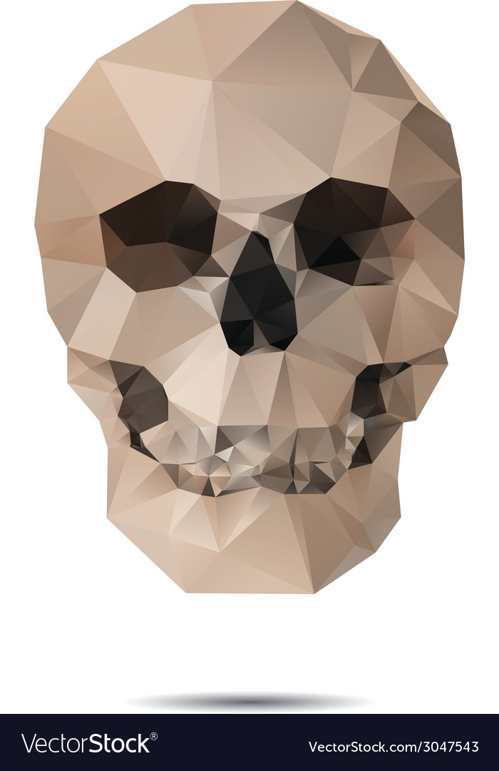 Crystal skull vector | Price: 1 Credit (USD $1)