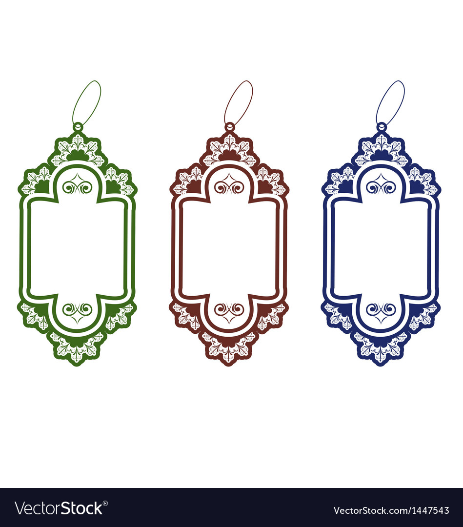 Set christmas colorful discount tickets vector | Price: 1 Credit (USD $1)
