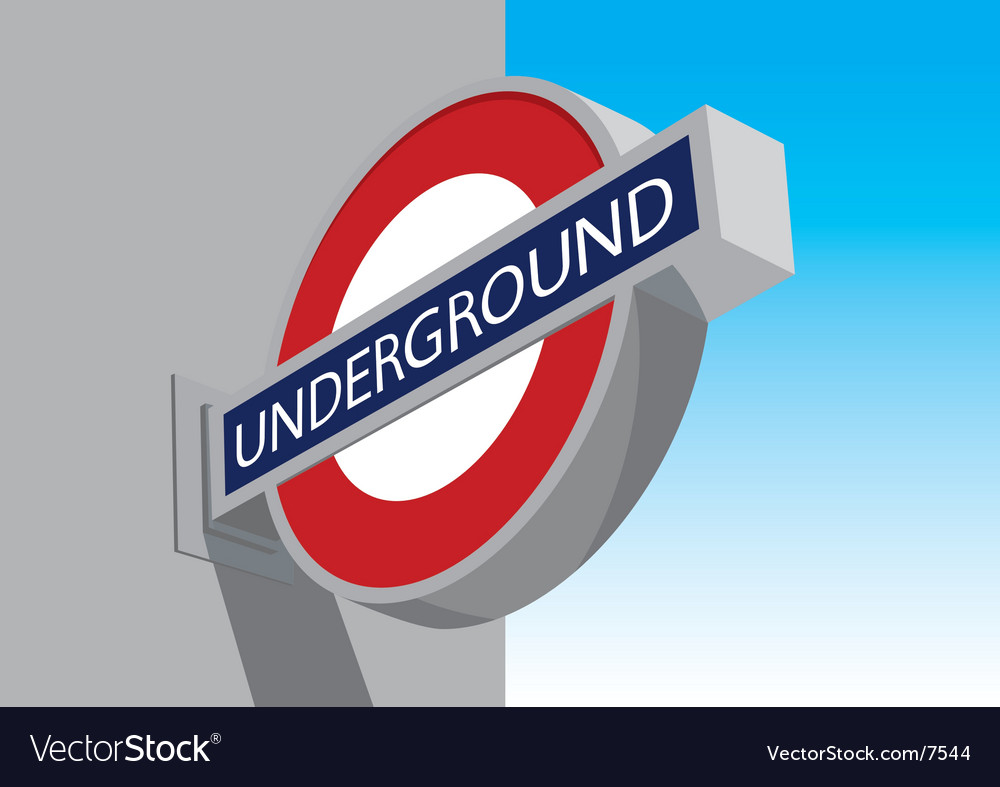 Underground vector | Price: 1 Credit (USD $1)