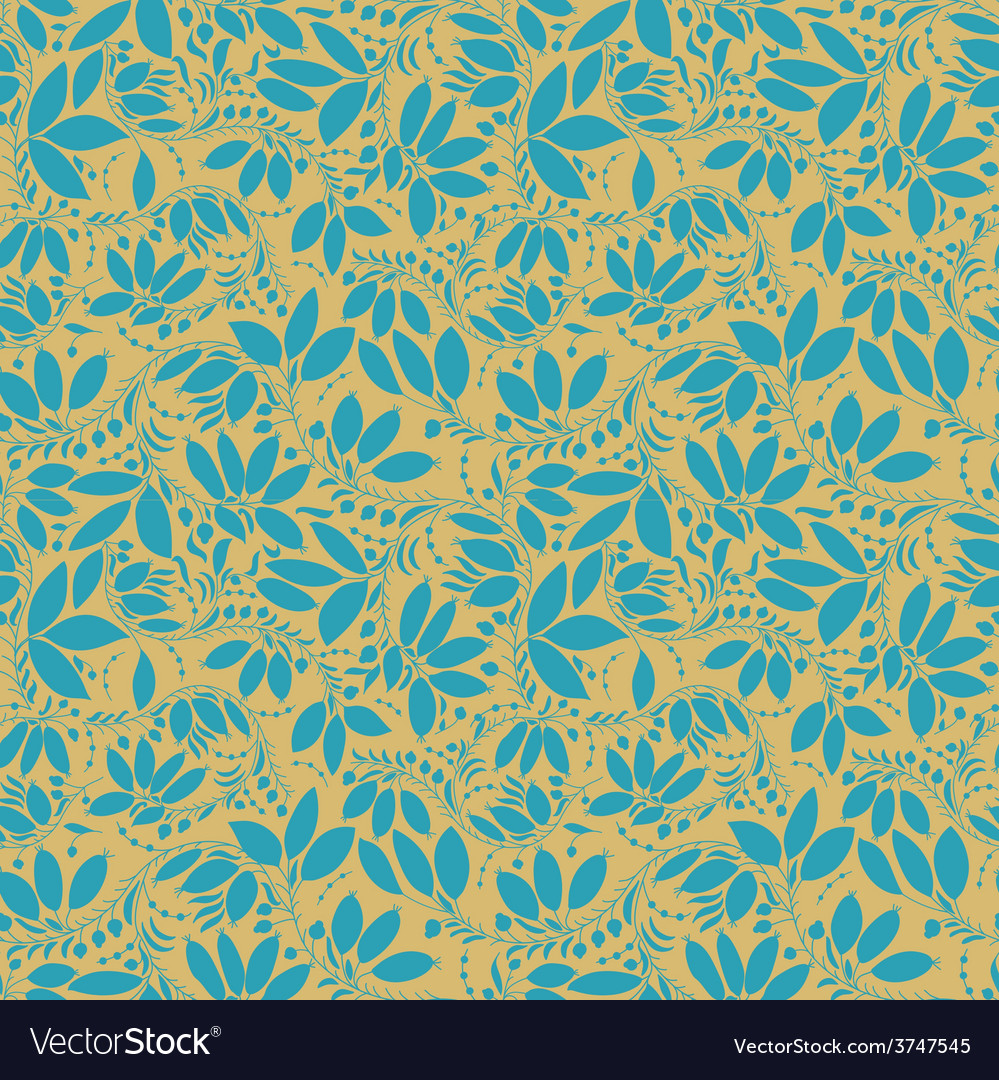 Barberry seamless pattern silhouette of berry or vector | Price: 1 Credit (USD $1)