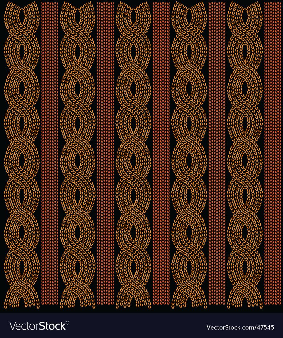 Thread knitting pattern vector | Price: 1 Credit (USD $1)