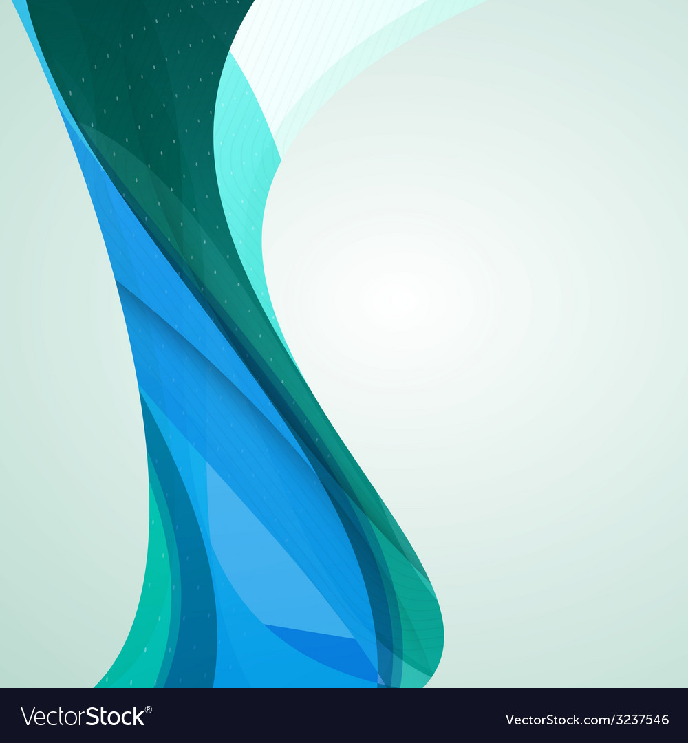 Abstract colorful wave background vector | Price: 1 Credit (USD $1)
