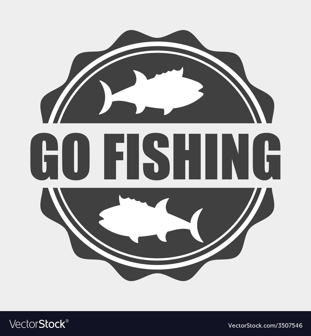 Fishing icon vector | Price: 1 Credit (USD $1)